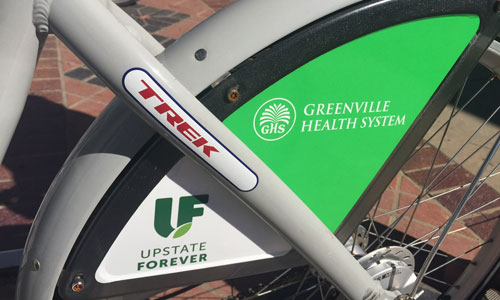 Latest Greenville B-cycle installation brings the bike share network to 10 stations