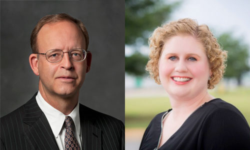 Charles Mickel and Pamela Vaughn join Upstate Forever's Board of Directors