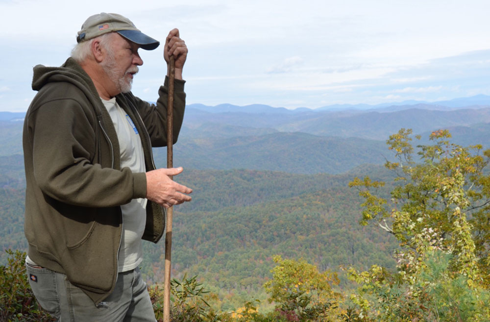 Dennis Chastain, award-winning nature writer, historian, and guide