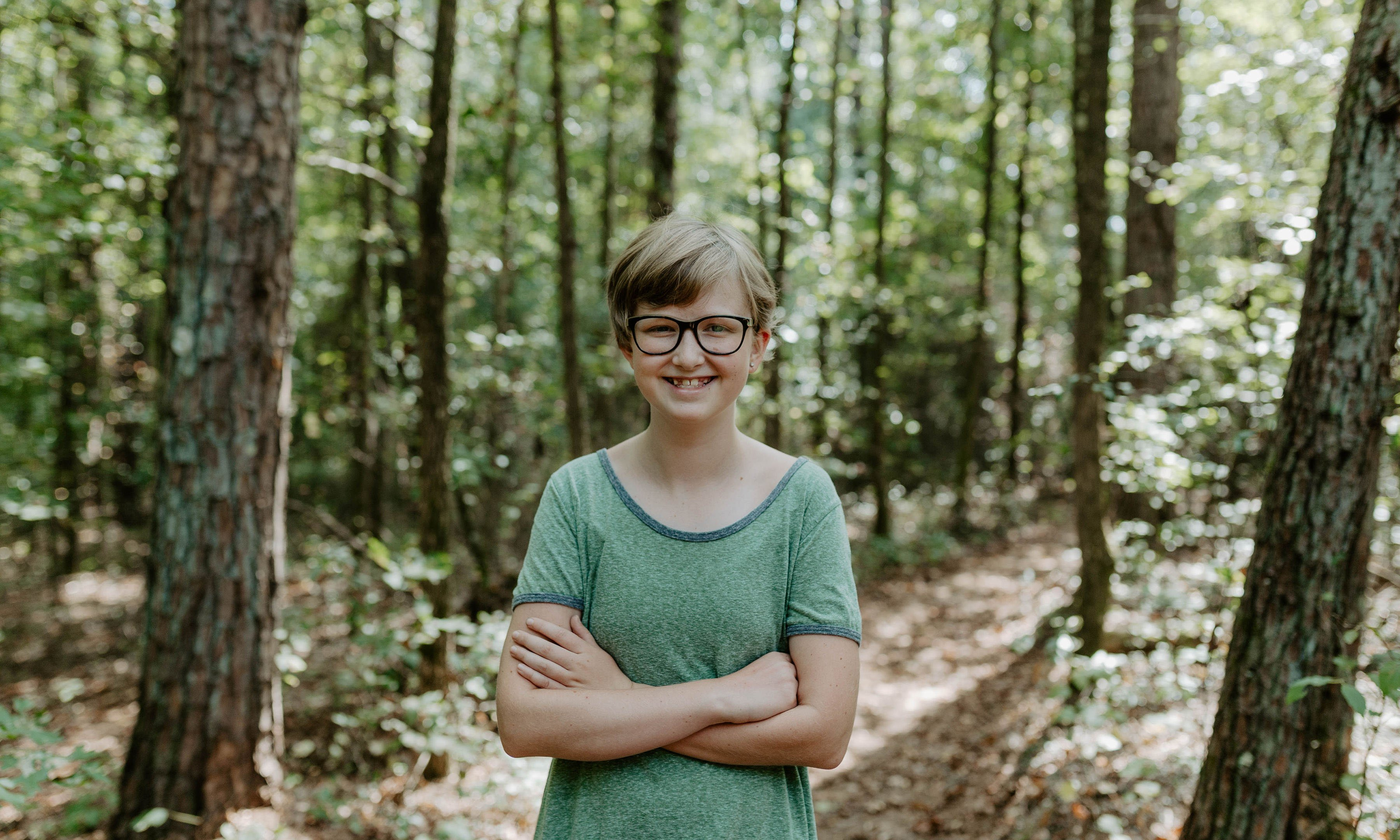 Lillian Hollis is a seventh grader in Greenville County. Photo by Morgan Yelton