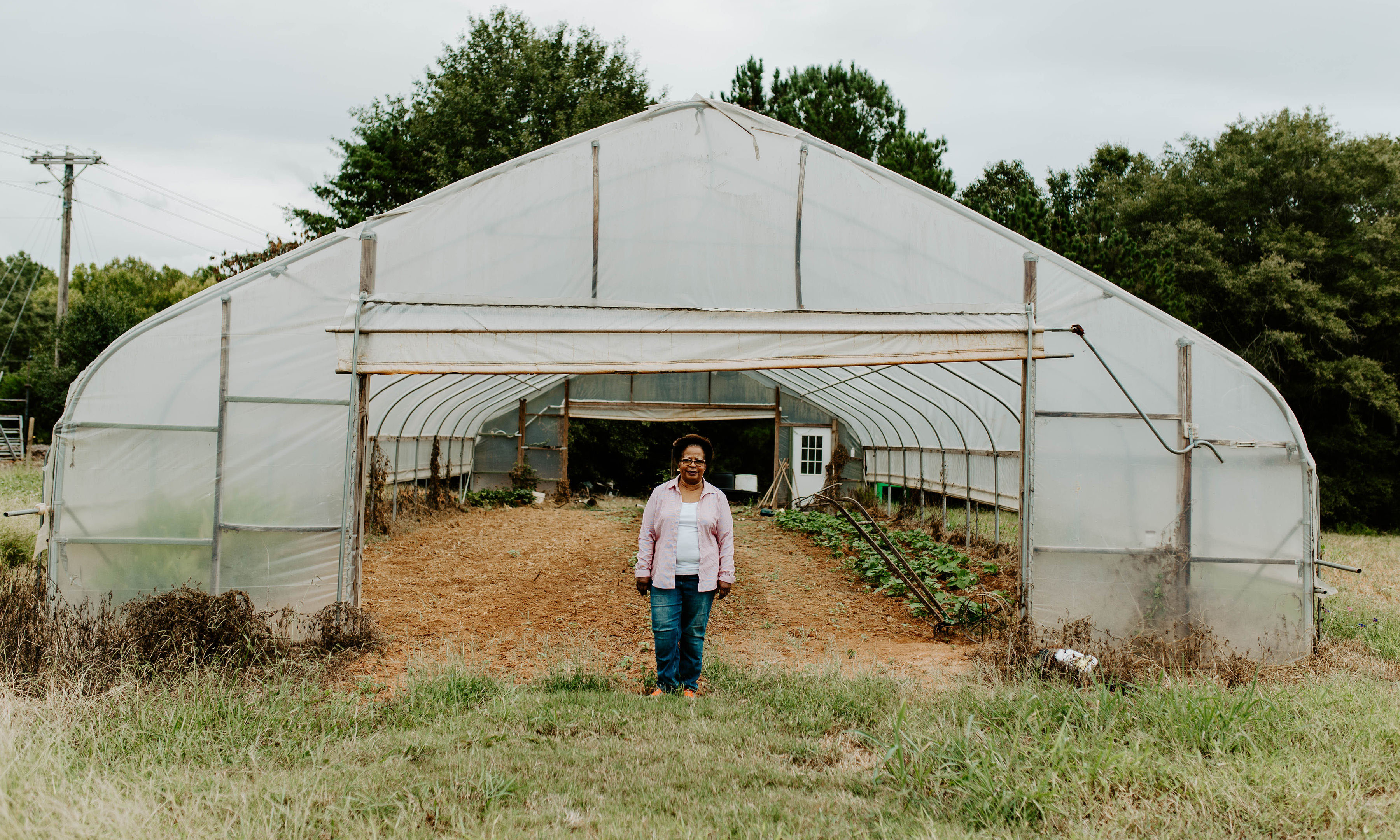 Margaret Harrison is a farmer in Southern Greenville County. Photo by Morgan Yelton