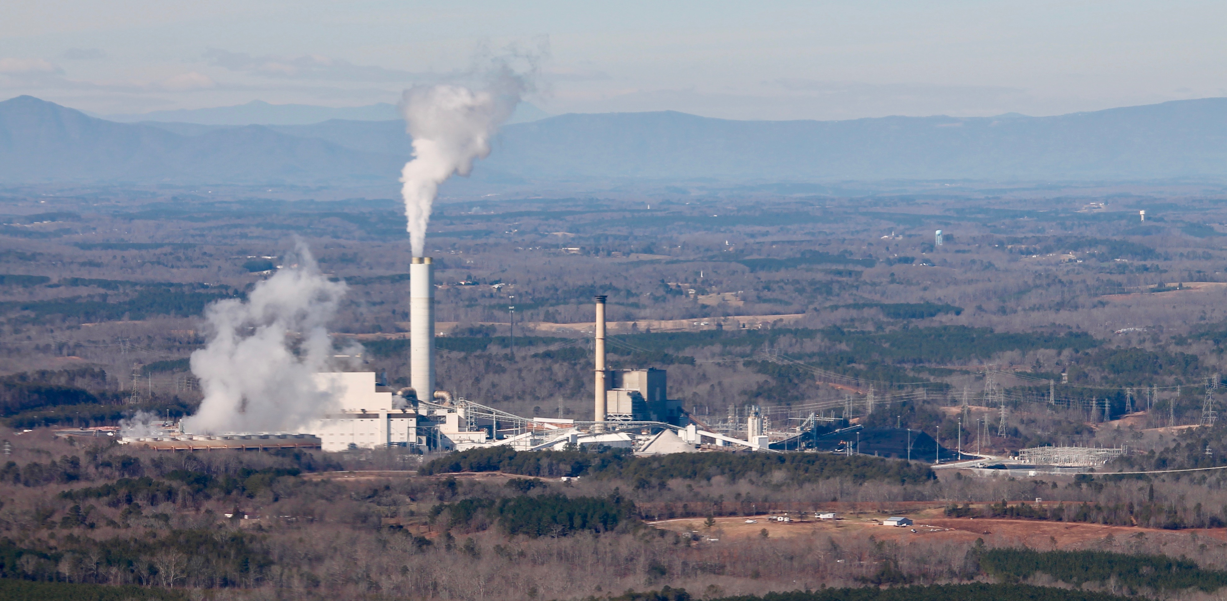 Duke Energy's Cliffside coal plant in NC