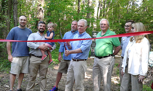 Stumphouse Passage of the Palmetto Trail opens