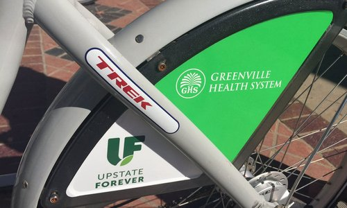 Upstate Forever will transfer bikeshare operations to the City of Greenville in late 2019