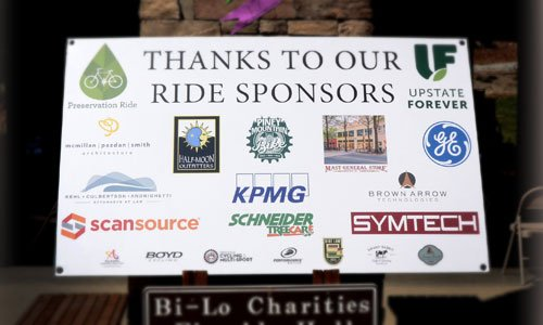 Thank you to our 2017 Preservation Ride Sponsors