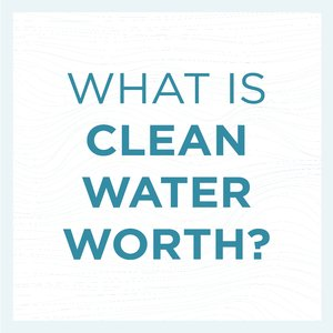 What is clean water 'worth?'